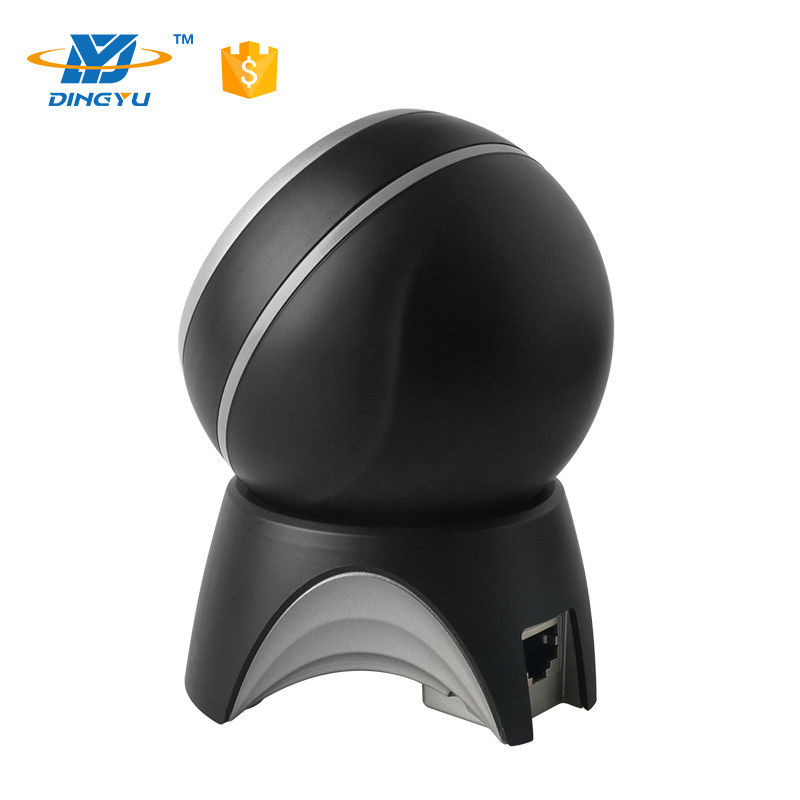 Made in China Stationary Black 2D Desktop Supermarket High Speed Barcode Scanner